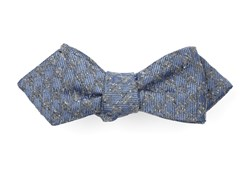 Bow Ties - Houndstooth Thrill - Slate Blue