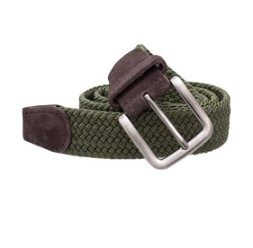 Olive Braided belt