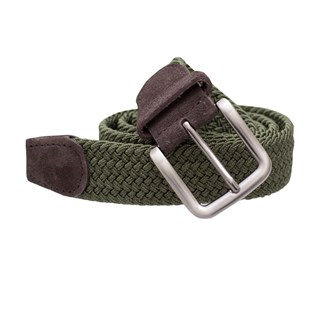 Braided Olive Belt