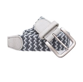 Charcoal Braided Two-tone belt
