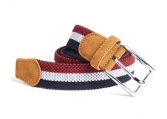 Belts - On Your Mark Stripe - Red