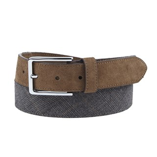 Rebel Plaid Grey Belt