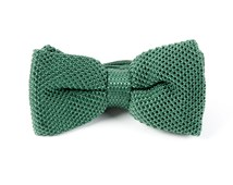 BOW TIES - KNITTED - HUNTER