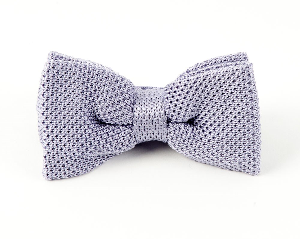 Lilac Knitted Bow Tie | Ties, Bow Ties, and Pocket Squares | The Tie Bar