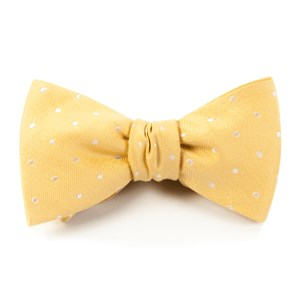dotted dots butter bow ties