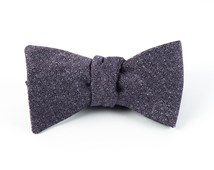 Bow Ties - LINEN STITCHED - PURPLE