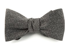 Bow Ties - LINEN STITCHED - Grey