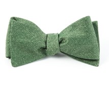 Bow Ties - LINEN STITCHED - GRASS