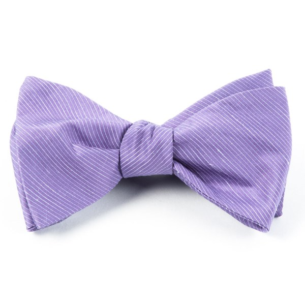 Wisteria Fountain Solid Bow Tie