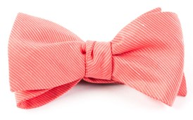 BOW TIES - FOUNTAIN SOLID - CORAL