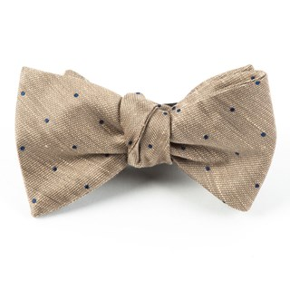 bulletin dot tan bow ties