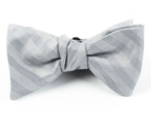 Bow Ties - INVISIBLE STRIPE - SILVER