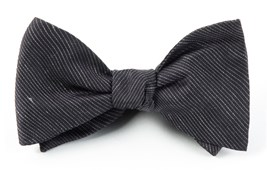 BOW TIES - FOUNTAIN SOLID - BLACK