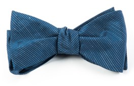BOW TIES - FOUNTAIN SOLID - DEEP SERENE BLUE