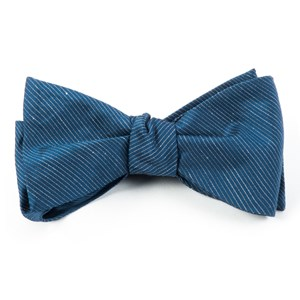 fountain solid deep serene blue bow ties