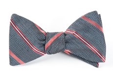 Bow Ties - EDITOR STRIPE - WHALE BLUE
