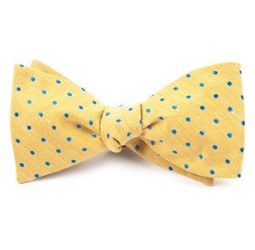 Yellow Dotted Dots bow ties