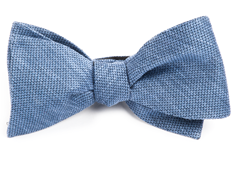 Bow Ties - Festival Textured Solid - Slate Blue