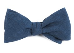 BOW TIES - FREEHAND SOLID - NAVY