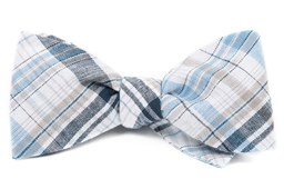 Bow Ties - Polar Linen - Midnight Navy