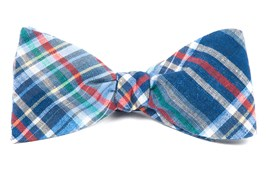 Bow Ties - Textbook Tartan - Navy