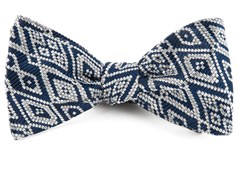 Bow Ties - Aztecture - Navy