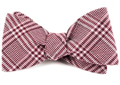 Bow Ties - Columbus Plaid - Raspberry