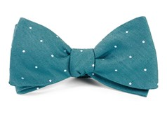 Bow Ties - Bulletin Dot - Teal