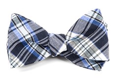 Bow Ties - RNR Plaid - Navy