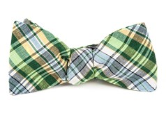 Bow Ties - RNR Plaid - Greens