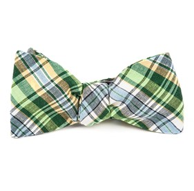 Greens Rnr Plaid bow ties