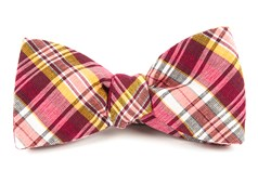 Bow Ties - RNR Plaid - Reds