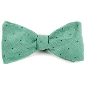 Mint Bulletin Dot bow ties