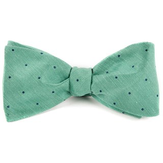 Bulletin Dot Mint Bow Tie