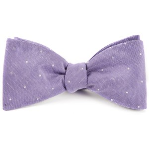 bulletin dot lavender bow ties