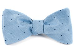Bow Ties - Bulletin Dot - Sky Blue
