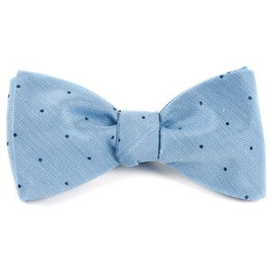 bulletin dot sky blue bow ties