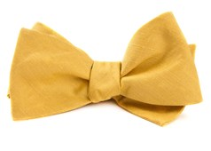 Bow Ties - Linen Row - Yellow