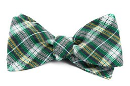 Bow Ties - Plaid Outlook - Kelly Green