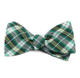 Kelly Green Plaid Outlook bow ties