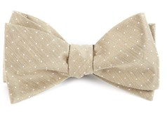 Bow Ties - Destination Dots - Champagne