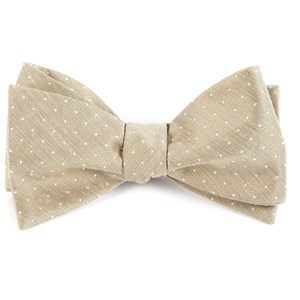 destination dots champagne bow ties