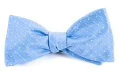 Bow Ties - Destination Dots - Light Blue