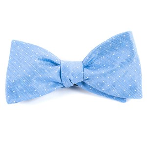 destination dots light blue bow ties