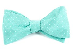 Bow Ties - Destination Dots - Mint