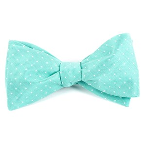 destination dots mint boys bow ties
