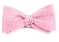 Bow Ties - Destination Dots - Pink