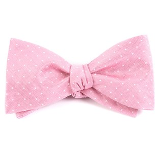 destination dots pink bow ties