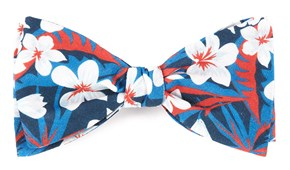 Bow Ties - Tropic Of Linen - Navy