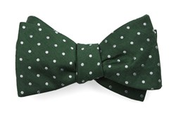 Bow Ties - Dotted Dots - Clover Green